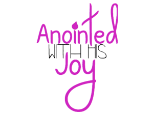 Anointed with his Joy Logo